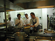 Peter Gordon and Miles Kirby,Preparing for the Le Prince Maurice Prize. Mauritius. 27 May 2006. ONE TIME USE ONLY - DO NOT ARCHIVE  © Copyright Photograph by Dafydd Jones 66 Stockwell Park Rd. London SW9 0DA Tel 020 7733 0108 www.dafjones.com