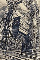 Fine art photography HDR of São Bento Monastery, Rio de Janeiro, Brazil.