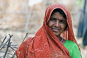 Local woman at Rohaniya, Bandhavgarh, India.