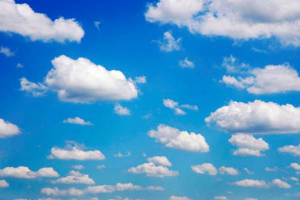 Nederland, Nijmegen, 13-2-2013Blauwe lucht met wolken.Foto: Flip Franssen/Hollandse Hoogte