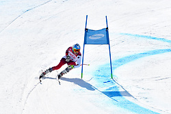 GMUR Theo LW9-1 SUI competing in ParaSkiAlpin, Para Alpine Skiing, Super G at PyeongChang2018 Winter Paralympic Games, South Korea.
