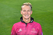 Head shot of Max Waller in the Royal London One-Day Cup kit during the 2019 media day at Somerset County Cricket Club at the Cooper Associates County Ground, Taunton, United Kingdom on 2 April 2019