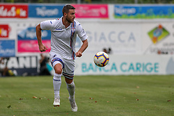 July 28, 2018 - Trento, TN, Italy - Jacopo Sala during the Pre-Season friendly between Sampdoria and Parma, in Trento on July 28, 2018, Italy  (Credit Image: © Emmanuele Ciancaglini/NurPhoto via ZUMA Press)