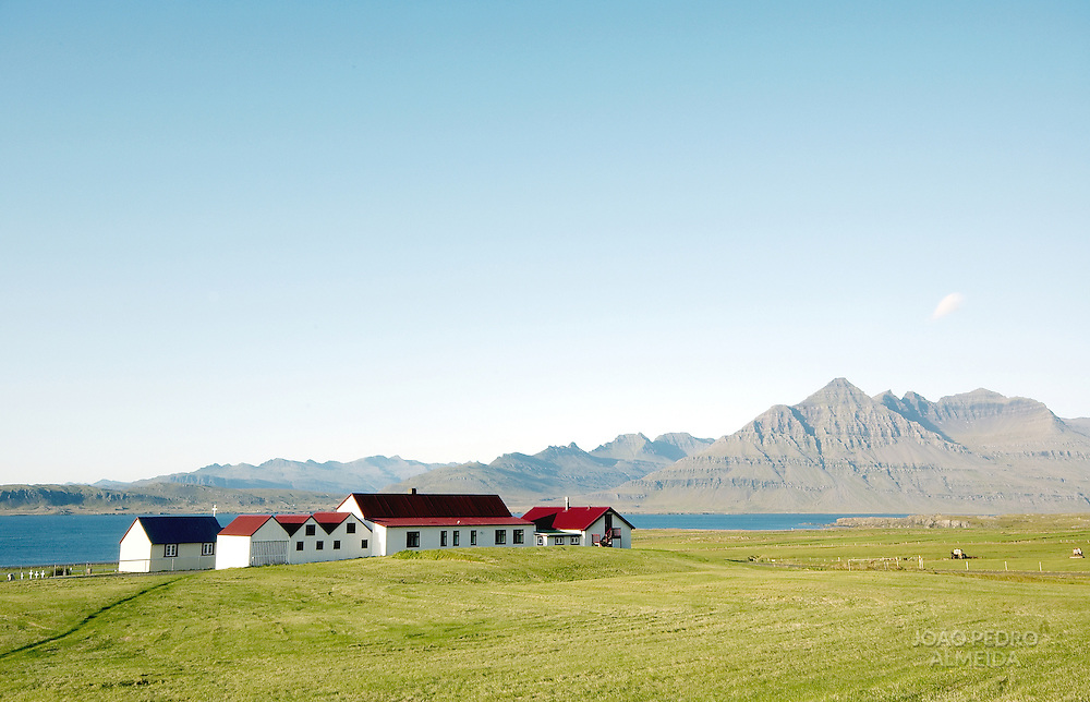 Farm at Iceland's East fjords
