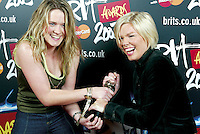 The BRIT Awards 2003 with MasterCard Launch, Abbey Road Studios, London. Jan 1, 2003 (photo John Marshall/JM Enternational)