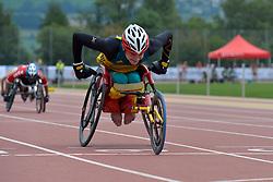 04/08/2017; Luff, Gregory, T34, AUS at 2017 World Para Athletics Junior Championships, Nottwil, Switzerland