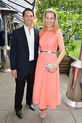 ALEXANDER & IKA GREEN at an Evening at The River Cafe in aid of the NSPCC held at The River Cafe, Thames Wharf, Rainville Road, London on 19th June 2016