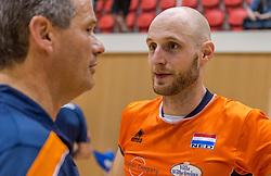 04-06-2016 NED: Nederland - Duitsland, Doetinchem<br /> Nederland speelt de tweede oefenwedstrijd in Doetinchem en verslaat Duitsland opnieuw met 3-1 / Jasper Diefenbach #6