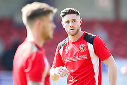 Wes Burns of Fleetwood Town - Mandatory by-line: Robbie Stephenson/JMP - 21/04/2018 - FOOTBALL - Highbury Stadium - Fleetwood, England - Fleetwood Town v Wigan Athletic - Sky Bet League One