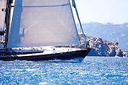 Moonbird sailing in the Dubois Cup regatta, Day 1.