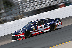 July 20, 2018 - Loudon, New Hampshire, United States of America - BJ McLeod (51) takes to the track to practice for the Foxwoods Resort Casino 301 at New Hampshire Motor Speedway in Loudon, New Hampshire. (Credit Image: © Justin R. Noe Asp Inc/ASP via ZUMA Wire)