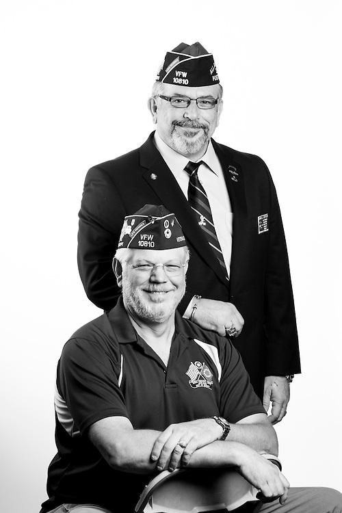 Leffler Brothers<br /> <br /> Veterans Portrait Project<br /> St. Louis, MO