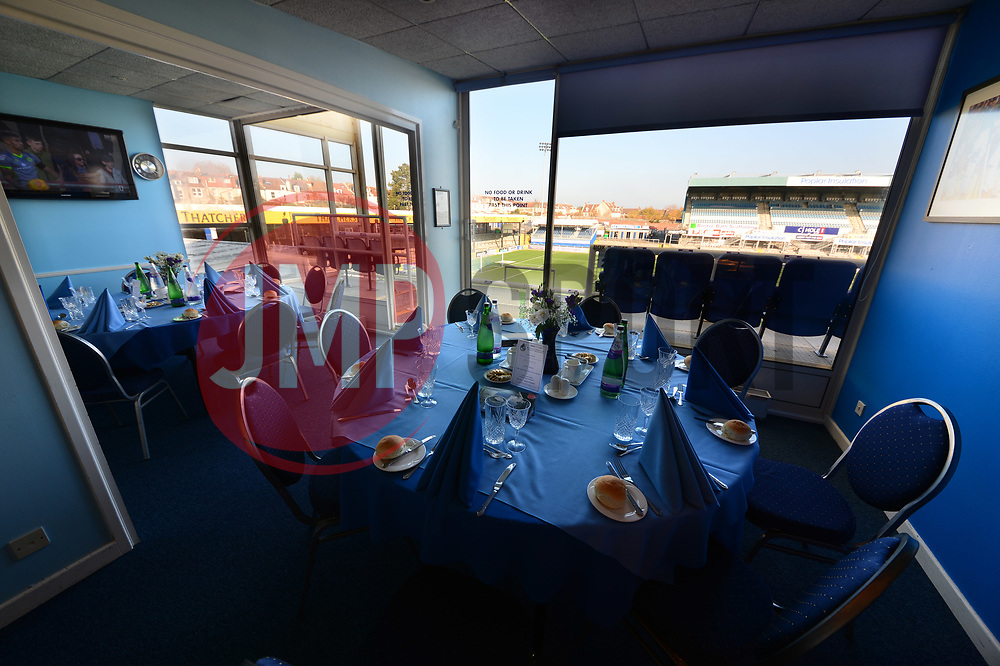 Hospitality boxes 1 and 2 - Mandatory by-line: Dougie Allward/JMP - 17/11/2018 - FOOTBALL - Memorial Stadium - Bristol, England - Bristol Rovers v Scunthorpe United - Sky Bet League One