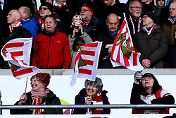 Doncaster Rovers fans - Mandatory by-line: Robbie Stephenson/JMP - 17/02/2019 - FOOTBALL - The Keepmoat Stadium - Doncaster, England - Doncaster Rovers v Crystal Palace - Emirates FA Cup fifth round proper