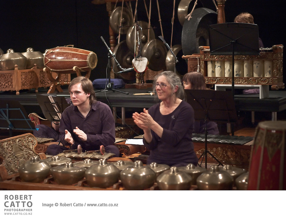 Victoria University's NZ School of Music celebrated the career of retiring professor Jack Body with a concert entitled Gong Crazy, celebrating his long relationship with the school - and with the gamelan.