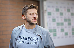 BURNLEY, ENGLAND - Saturday, August 31, 2019: Liverpool's Adam Lallana arrives before the FA Premier League match between Burnley FC and Liverpool FC at Turf Moor. (Pic by David Rawcliffe/Propaganda)