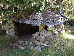 Woodshed, Wallace Island, Gulf Islands, British Columbia, Canada