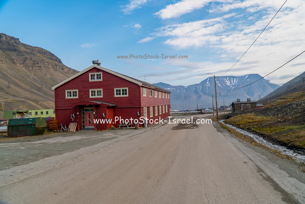 Longyearbyen (literally The Longyear Town) is the largest settlement and the administrative centre of Svalbard, Norway. Longyearbyen is located in the Longyear Valley and on the shore of Adventfjorden, a bay of Isfjorden located on the west coast of Spitsbergen.