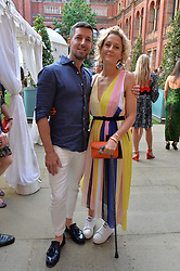 Martha Lane-Fox and husband at the V&A Summer Party 2017 held at the Victoria & Albert Museum, London England. 21 June 2017.<br /> Photo by Dominic O'Neill/SilverHub 0203 174 1069 sales@silverhubmedia.com