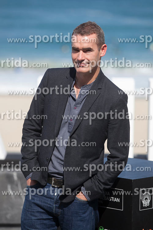 26.09.2015, Madrid, San Sebastian, ESP, San Sebastian International Film Festival, im Bild Movie director Rufus Norris poses during `London road&acute; film presentation // at 63rd Donostia Zinemaldia, San Sebastian International Film Festival in Madrid in San Sebastian, Spain on 2015/09/26. EXPA Pictures &copy; 2015, PhotoCredit: EXPA/ Alterphotos/ Victor Blanco<br /> <br /> *****ATTENTION - OUT of ESP, SUI*****