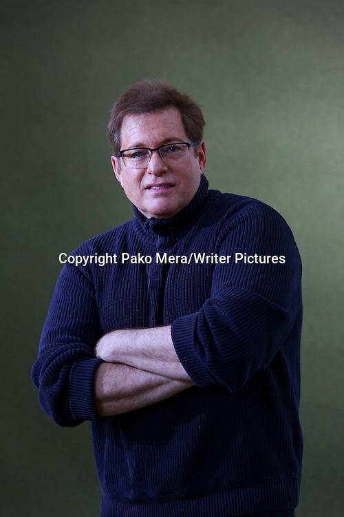 Craig Pomranz at Edinburgh International Book Festival 2014. <br /> 15th August 2014<br /> <br /> Picture by Pako Mera/Writer Pictures
