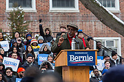 Brooklyn, NY - 2 March 2019. South Carolina state Representative Rev. Terry Alexander speaking at Bernie Sanders' first rally for the 2020 presidential primary at Brooklyn College.