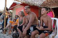 Jerry COLLINS (Nouvelle Zelande) - 01.09.2007 - Apres midi detente sur la plage d' Argent - Ajaccio<br /> Photo : Jean Pierre Belzit / Icon Sport