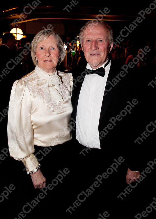 28.01.12 <br /> Attending the Clare Hunt Ball in West County Hotel Ennis were,  Con and Joe McNamara<br /> . Picture: Alan Place/Press 22.
