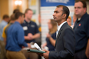 19082Fall Career Fair in Baker Center 10/08/08..  Santosh Vijapur