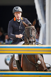 Rieskamp Goedeking Tim (GER) - Quartz 7<br /> FEI Zangersheide Sires of the World - Lanaken 2013<br /> © Dirk Caremans