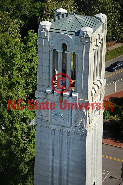 Aerial view of the Memorial Belltower.