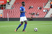 Axel Tuanzebe of Manchester United U23's during the Under 23 Premier League 2 match between Southampton and Manchester United at St Mary's Stadium, Southampton, England on 22 August 2016. Photo by Phil Duncan.