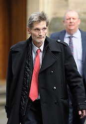 © Licensed to London News Pictures. 09/12/2013; Bristol, UK.  Lord Somerset arrives at Bristol Crown Court for the start of his trial.  Lord Edward Alexander Somerset, son of the Duke of Beaufort, faces six counts of assault against his wife Caroline dating back more than 25 years.  09 December 2013.<br /> Photo credit : Simon Chapman/LNP