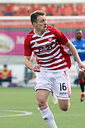 Hamilton Accademical forward David McMillan (16)  during the Ladbrokes Scottish Premiership match between Hamilton Academical FC and Rangers at New Douglas Park, Hamilton, Scotland on 24 February 2019.