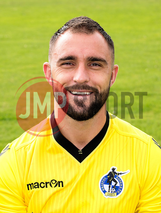 Peter Hartley of Bristol Rovers - Mandatory by-line: Robbie Stephenson/JMP - 04/08/2016 - FOOTBALL - The Lawns Training Ground - Bristol, England - Bristol Rovers Head Shots