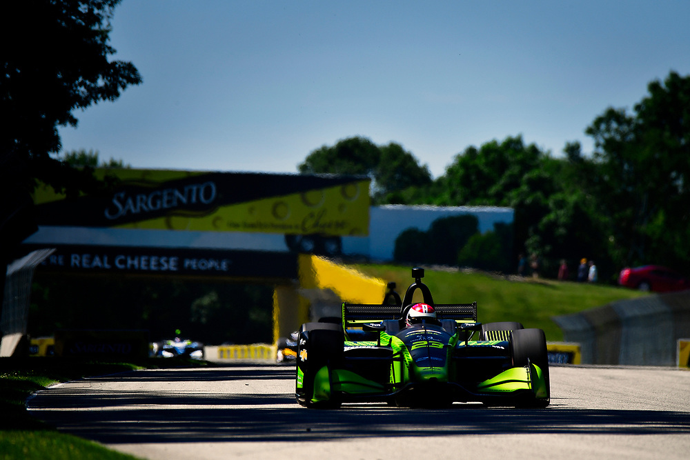 Charlie Kimball, Carlin Chevrolet<br /> Saturday 23 June 2018<br /> KOHLER Grand Prix at Road America<br /> Verizon IndyCar Series<br /> Road America WI USA<br /> World Copyright: Scott R LePage