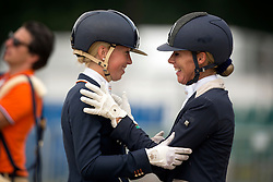 Brouwer Kirsten, Marree Gerdine (NED)<br /> FEI World Dressage Championships for Young Horses<br /> Internationales Dressur- und Springfestival - Verden 2014<br /> © Dirk Caremans