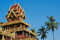 Myanmar (ex Birmanie), Province de Mon, environs de Mawlamyine (Moulmein), pagode Kawhnat  // Myanmar (Burma), Mon state, around Mawlamyine (Moulmein), Kawhnat pagoda
