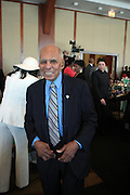 April 7, 2012 New York, NY:  Tuskeegee Airmen Dr. Rosco Brown attends the 62nd Annual Women of Distinction Spirit Awards Luncheon & Fashion Show sponsored by The Links, Inc- Greater New York Chapter held at Pier Sixty at Chelsea Piers on April 7, 2012 in New York City...Established in 1946, The Links,  incorporated, is one of the nation's oldest and largest volunteer service of women, linked in friendship, are committed to enriching, sustaining and ensuring the culture and economic survival of African-American and persons of African descent . The Links Incorporated is a not-for-profit organization, which consists of nearly 12, 000 professional women of color in 272 located in 42 states, the District of Columbia and the Bahamas. (Photo by Terrence Jennings)