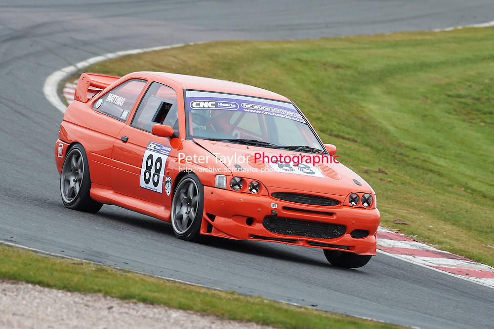 #88 Scott MATTHIAS Ford Escort Cosworth 2000 during CNC Heads Sports / Saloon Championship as part of the BARC NW - Championship Raceday  at Oulton Park, Little Budworth, Cheshire, United Kingdom. March 19 2016. World Copyright Peter Taylor/PSP. Copy of publication required for printed pictures.  Every used picture is fee-liable. http://archive.petertaylor-photographic.co.uk