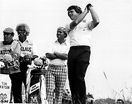 TOM WATSON AND JACK NICKLAUS in the duel in the sun atThe Open Championship 1977<br />