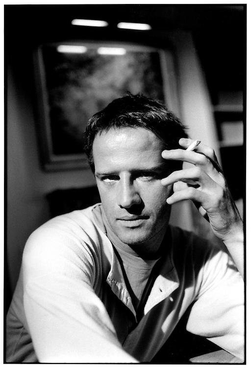 Portrait of Christophe Lambert, actor, Paris, 1989