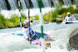 Ajda Novak during the Kayak Single (K1) Women race of Tacen Cup 2020 on May 24, 2020 in Tacen, Ljubljana, Slovenia. Photo By Grega Valancic / Sportida