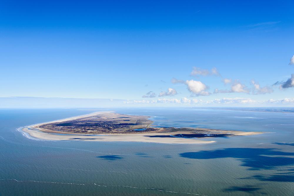 Nederland, Friesland, Waddenzee, 28-02-2016;<br /> Het Friese Zeegat  vanaf Ameland naar Schiermonnikoog<br /> Wadden sea between Schiermonnikoog and Ameland.<br /> <br /> luchtfoto (toeslag op standard tarieven);<br /> aerial photo (additional fee required);<br /> copyright foto/photo Siebe Swart