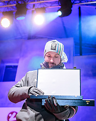 27.02.2018, Salzburg, AUT, PyeongChang 2018, ÖOC Medaillenfeier, im Bild Doppelolympiasieger Marcel Hirscher // during a ÖOC medal celebration Party after the Olympic Winter Games Pyeongchang 2018 in Salzburg, Austria on 2018/02/27. EXPA Pictures © 2018, PhotoCredit: EXPA/ JFK