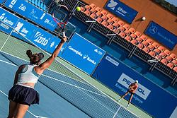 during women's senior final of Slovenian championship Zavarovalnica Sava tournament at ATP Challenger Zavarovalnica Sava Slovenia Open 2019, day 2, on August 10th 2019 in Sports centre, Portoroz/Portorose, Slovenia. Photo by Grega Valancic / Sportida