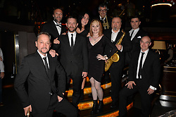 The Commitments at the Quaglino's Q Legends Summer Launch Party hosted by Henry Conway at Quaglino's, 16 Bury Street, London England. 18 July 2017.<br /> Photo by Dominic O'Neill/SilverHub 0203 174 1069 sales@silverhubmedia.com