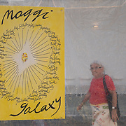 FEBRUARY 10, 2018---MIAMI, FLORIDA<br /> Maggi Galaxy chart as part of Miami based artist Antoni Miralda's event, The Maggic Banquet, a multifaceted participatory project centered on food  at EXILE Books in Little Haiti.<br /> (PHOTO BY ANGEL VALENTIN for MDC