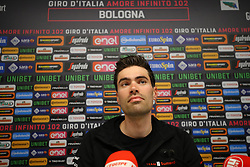 Foto Filippo Rubin/LaPresse <br /> 09 maggio 2019 Bologna (Italia)<br /> Sport Ciclismo<br /> Giro d'Italia 2019 - edizione 102 - Conferenza Stampa Team.<br /> Nella foto: Team Sunweb.DUMOULIN Tom<br /> <br /> Photo Filippo Rubin/LaPresse<br /> May 09, 2019  Bologna (Italy)  <br /> Sport Cycling<br /> Giro d'Italia 2019 - 102th edition - Team Press Conference .<br /> In the pic: Team Sunweb.DUMOULIN Tom