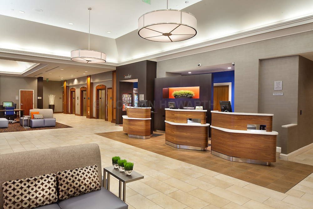 Marriott Courtyard hotel 1000_Aliceanna_Baltimore Maryland lobby